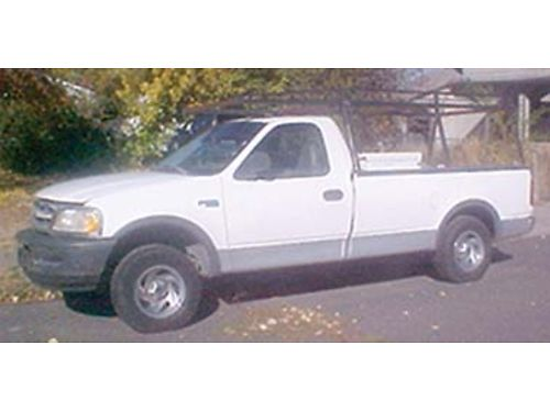 1997 FORD F-150 4x4 well maintained runs great nice work truck has job box