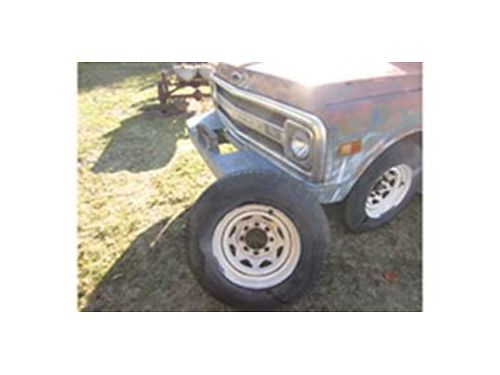 WINCH bumper for 1969-1972 Chevrolet pickup or Blazer  4-8-hole wheels wtires 160 for both or wi