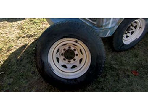 4 8-HOLE wheels wtires 90 Call for more info 509-535-7705