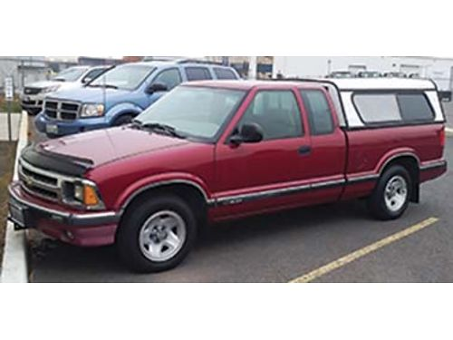 1995 CHEVROLET S-10 X-cab V6 most options new motor  clutch approx 30k on m