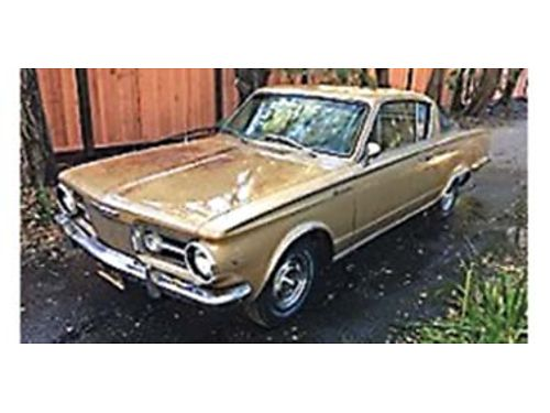 1964 PLYMOUTH Barracuda 63191 miles 273 V8 push button transmission engine