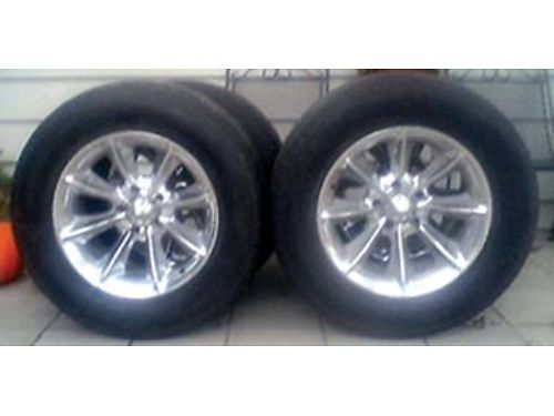 3 STUDDED Snow Tires Dean tires 1956015 100  Also have 5 tires  4 Alloy