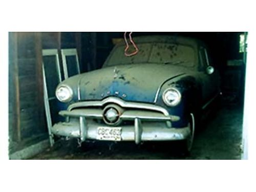 1949 FORD barn find 2 door post single owner for over 40 years always garaged
