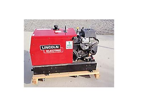 LINCOLN RANGER 10000 plus portable arc weldergenerator 27 hours on the welder Subaru 22 EH65 eng