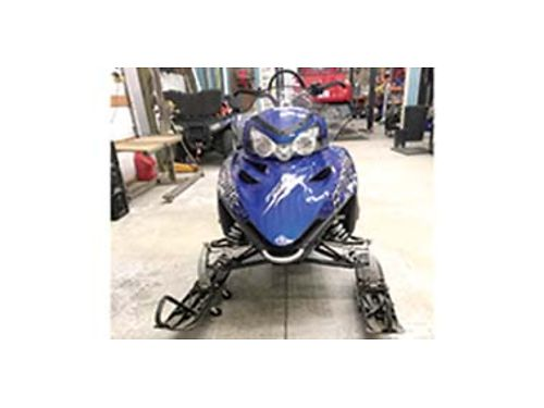 2010 POLARIS 800 RMK excellent condition only 1300 trail miles electric start kill tether bar