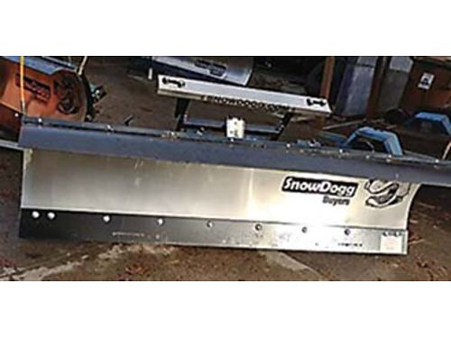 SNOWDOGG BLADES FOR PLOWING. $4,700 BRAND NEW, ...