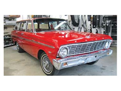 1964 FALCON Wagon 302 C4 automatic rebuilt engine and transmission runs and drives like a dream Ex
