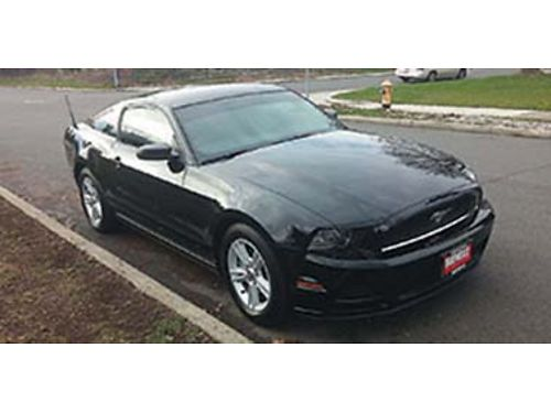 2014 FORD Mustang 25k miles 37L 300 HP V-6 5 speed 4 years transferable w