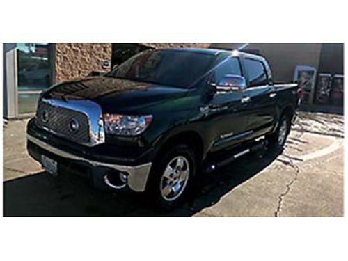 2011 TOYOTA Tundra SR5 57L crewman 63k miles 1 owner non smoker updated like the Limited leat