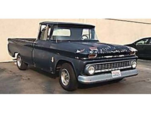 1963 CHEVROLET C10 350 Crate swap with 350 trans w shift kit Shifts quick and gets you movin Jus