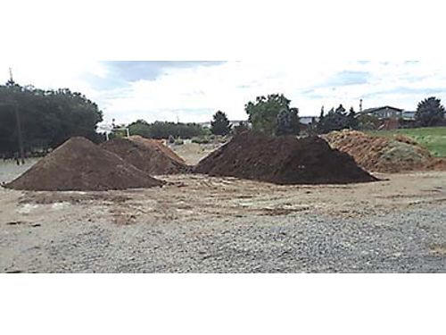 COMPOST AND WOOD CHIPS For ground cover Compost unscreened 15 per yard Compost screened 22 pe
