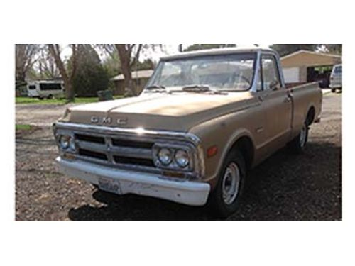 1969 GMC 12 ton shortwide bed good condition for its age start easy and can be driven 6 cyl wi