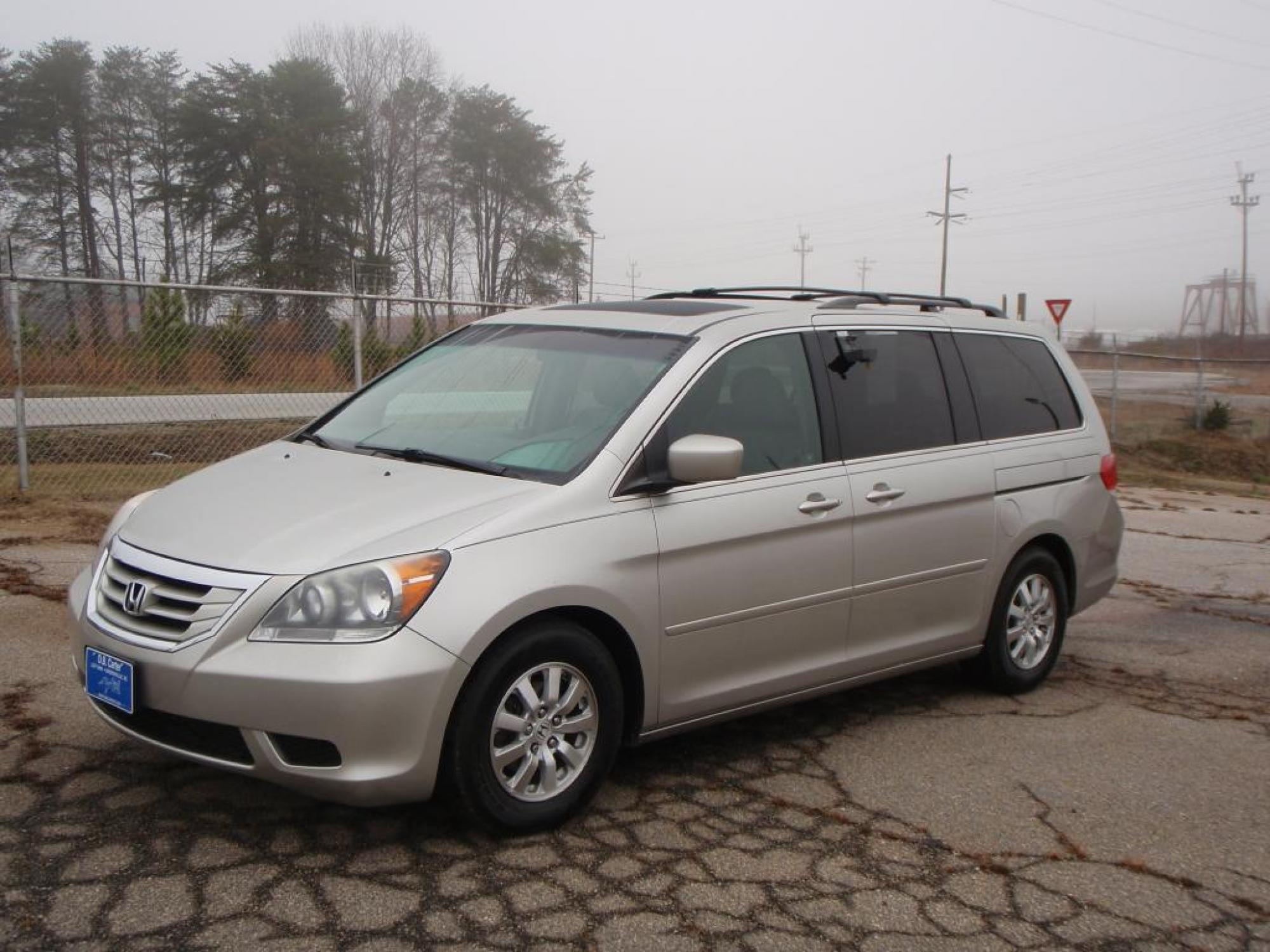 2009 Honda ODESSY EX-L DVD 4 Door Van GRAY GRAY LEATHER 4-WHEEL ANTI-LOCK DISC BRAKESPWR GLASS