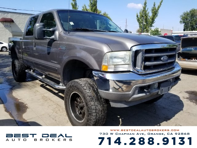 2003 Ford F-350 Super Duty Lariat Crew Cab Front air conditioning Front airbags - dual Cassette