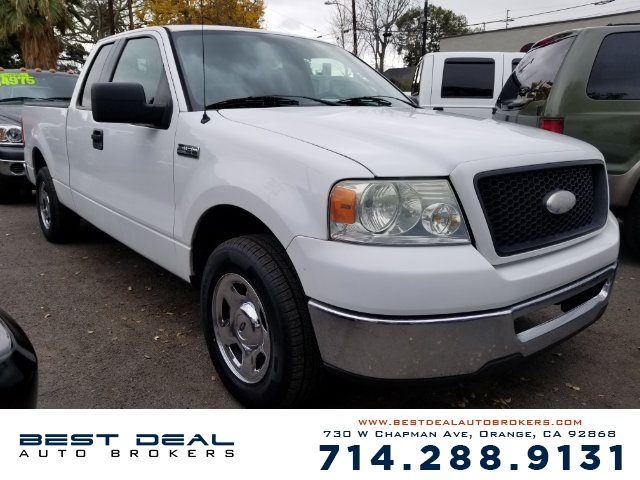 2006 Ford F-150 XLT Front air conditioning Airbag deactivation - occupant sensing passenger Fron