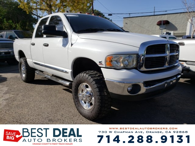 2005 Dodge Ram 3500 SLT Quad Cab Front air conditioning - Array automatic climate control Front