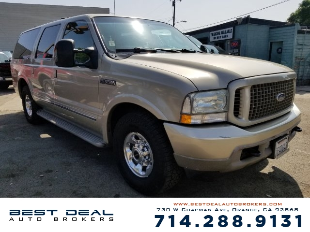 2004 Ford Excursion Limited 2WD SPORT Front air conditioning - Array automatic climate control Rea