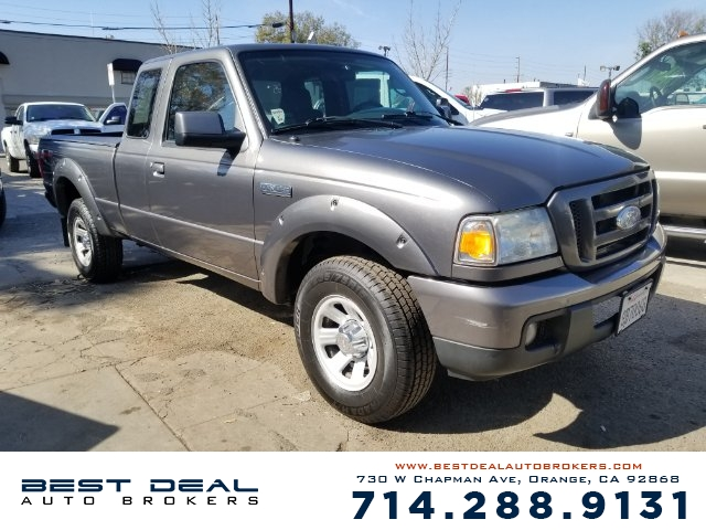 2006 Ford Ranger XL Airbag deactivation - occupant sensing passenger Front airbags - dual Radio