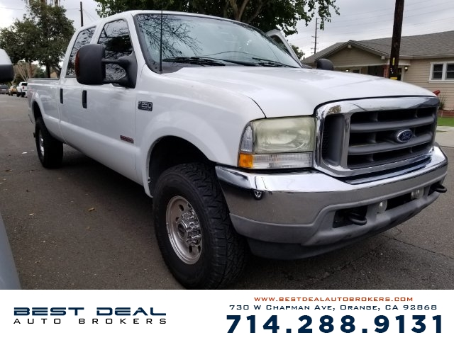 2003 Ford F-250 Super Duty XLT Front air conditioning Front airbags - dual Cassette In-Dash CD