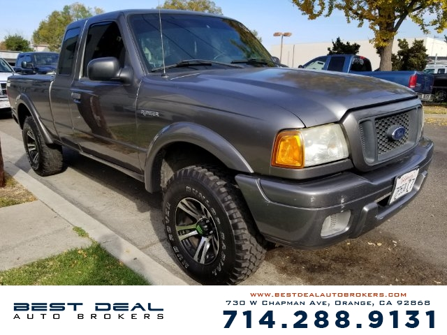 2004 Ford Ranger XL Front airbags - dual Radio - AMFM ABS - 4-wheel Power brakes Center conso