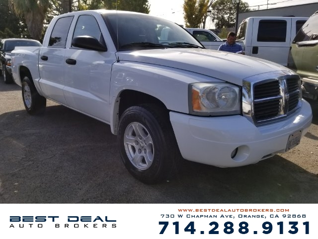 2007 Dodge Dakota SLT Front air conditioning Front air conditioning zones - single Airbag deacti