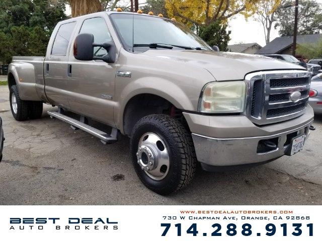 2006 Ford F-350 Super Duty Lariat Front air conditioning - automatic climate control Front airbag