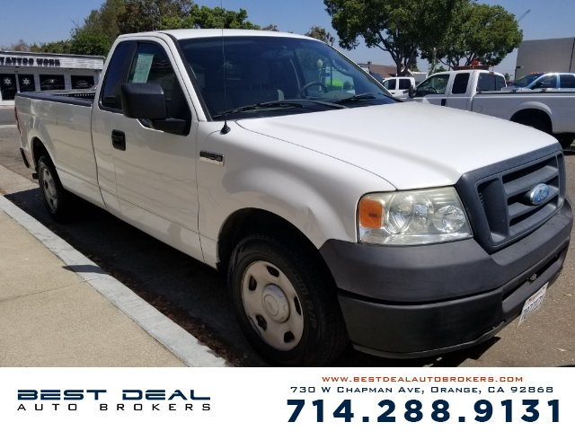 2008 Ford F-150 XL Long Bed Airbag deactivation - occupant sensing passenger Front airbags - dua