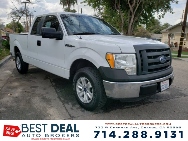 2011 Ford F-150 XL SuperCab 65-ft Front air conditioning Front air conditioning zones - single