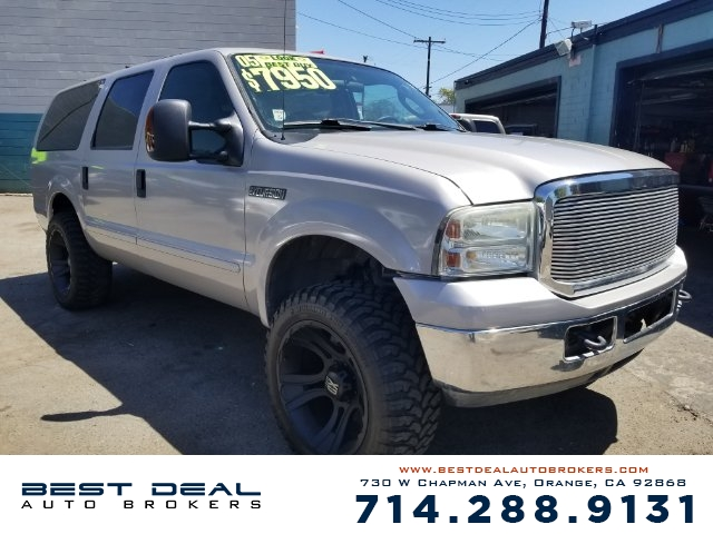 2005 Ford Excursion XLT Front air conditioning - automatic climate control Front air conditioning