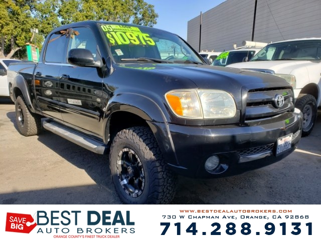 2005 Toyota Tundra Limited Double Cab Front air conditioning - Array automatic climate control F