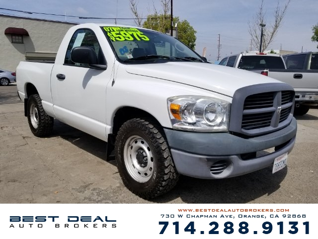 2007 Dodge Ram 1500 ST Front air conditioning Front air conditioning zones - single Airbag deact