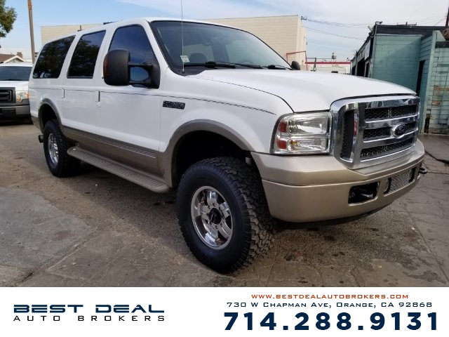 2005 Ford Excursion Eddie Bauer Front air conditioning - automatic climate control Front air cond