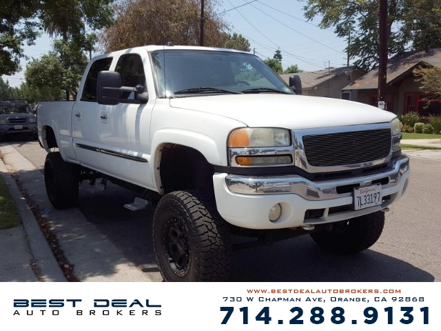 2004 GMC Sierra 2500HD 4WD Crew Cab Front air conditioning Front air conditioning zones - dual F