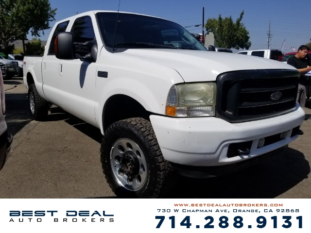 2003 Ford F-250 Super Duty XLT Crew Cab Front air conditioning Front airbags - dual Cassette In-