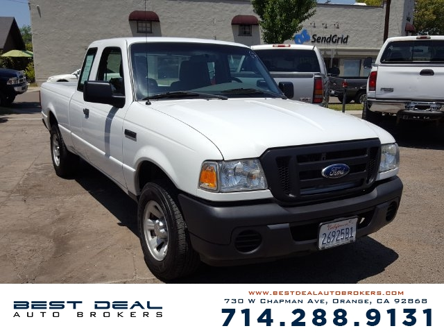 2011 Ford Ranger XL Extra Cab Front air conditioning Front air conditioning zones - single Airba