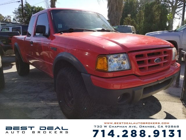 2000 Ford Ranger XLT SuperCab 2WD Front airbags - dual In-Dash CD - single disc Radio - AMFM AB