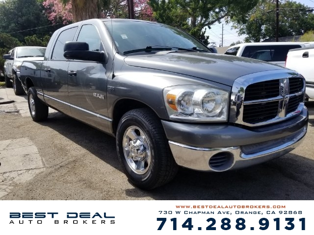 2008 Dodge Ram 1500 SLT Mega Cab Front air conditioning Front air conditioning zones - single A