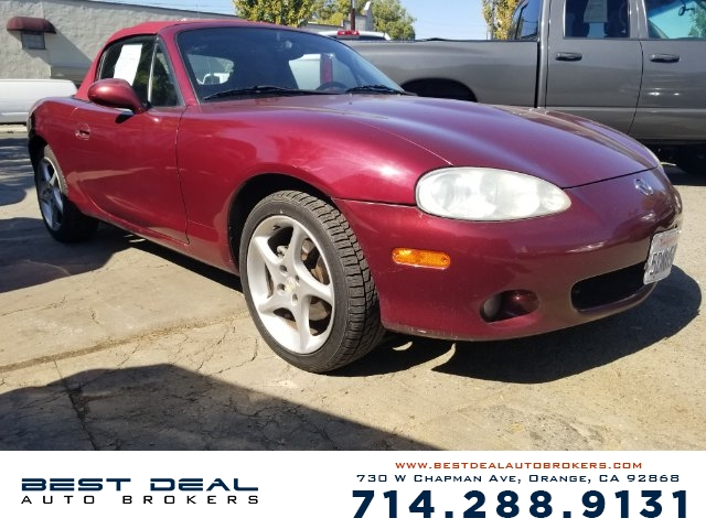 2003 Mazda MX-5 Miata Base Front air conditioning Front airbags - dual Antenna type - power In-