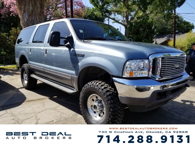 2001 FORD EXCURSION XLT 4WD SPORT