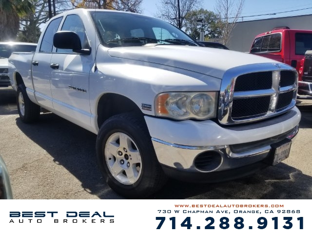 2004 Dodge Ram 1500 SLT Front air conditioning Front airbags - dual In-Dash CD - single disc Rad