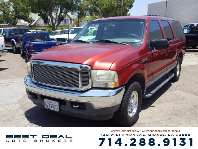 2002 Ford Excursion XLT Front air conditioning Rear air conditioning Front airbags - dual Casse