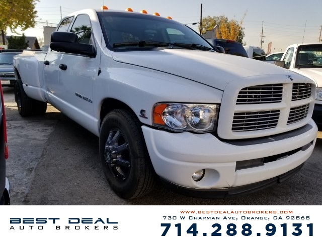 2003 Dodge Ram 3500 Laramie Front air conditioning Front air conditioning zones - dual Front air