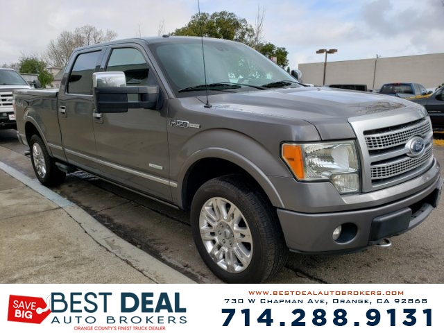 2011 Ford F-150 Platinum SuperCrew 65-ft Front air conditioning - automatic climate control Fron