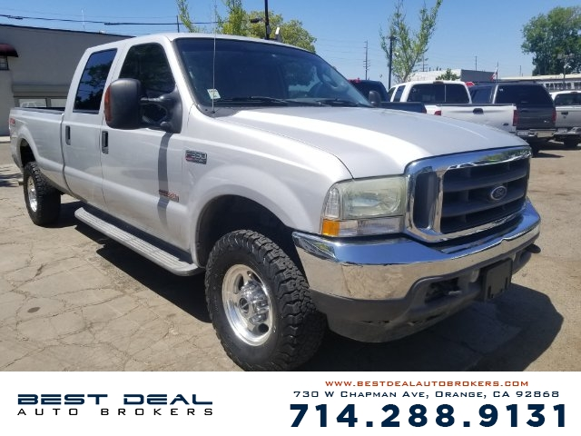 2004 Ford F-350 Super Duty Lariat Front air conditioning Front airbags - dual In-Dash CD - single