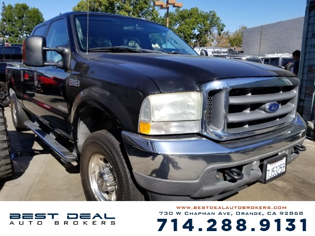 2004 Ford F-250 Super Duty Lariat Crew Cab Front air conditioning Front airbags - dual In-Dash CD