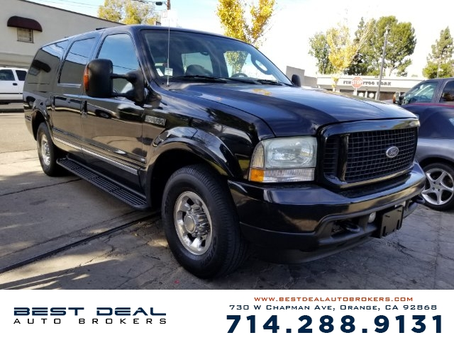 2004 Ford Excursion Limited Front air conditioning - Array automatic climate control Rear vents -