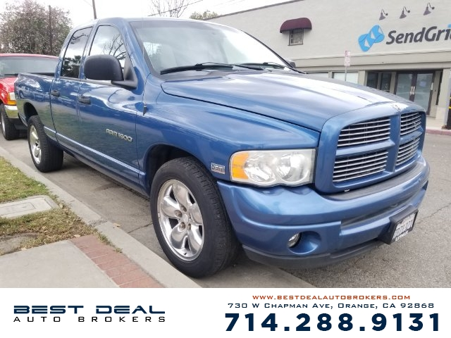 2003 Dodge Ram 1500 SLT Front air conditioning Front airbags - dual In-Dash CD - single disc Ra