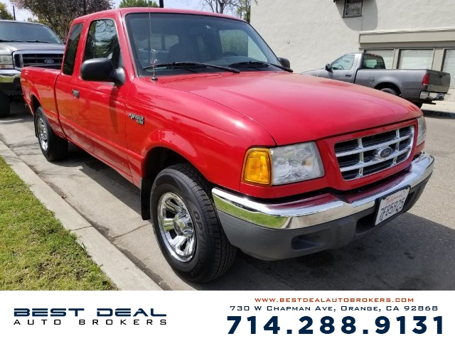 2001 Ford Ranger XLT Front air conditioning Front airbags - dual In-Dash CD - single disc Radio