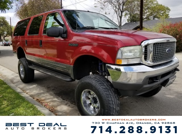 2004 Ford Excursion XLT Front air conditioning Rear air conditioning Front airbags - dual Casset