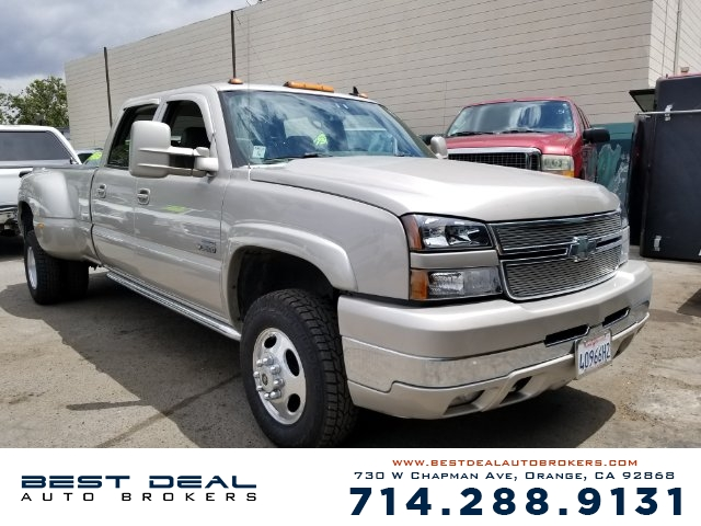 2006 Chevrolet Silverado 3500 LT Front air conditioning - automatic climate control Front air cond